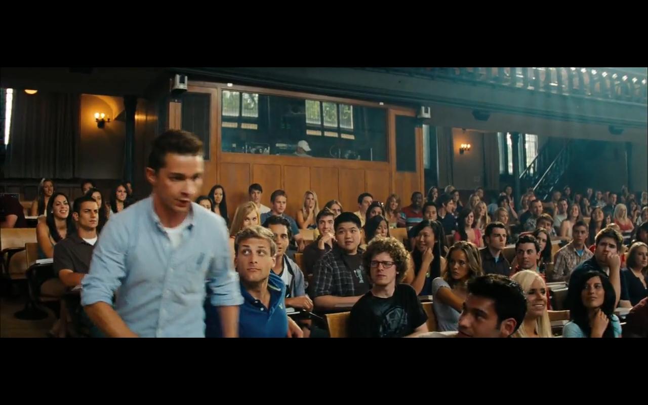 College campus transformers 2 movie