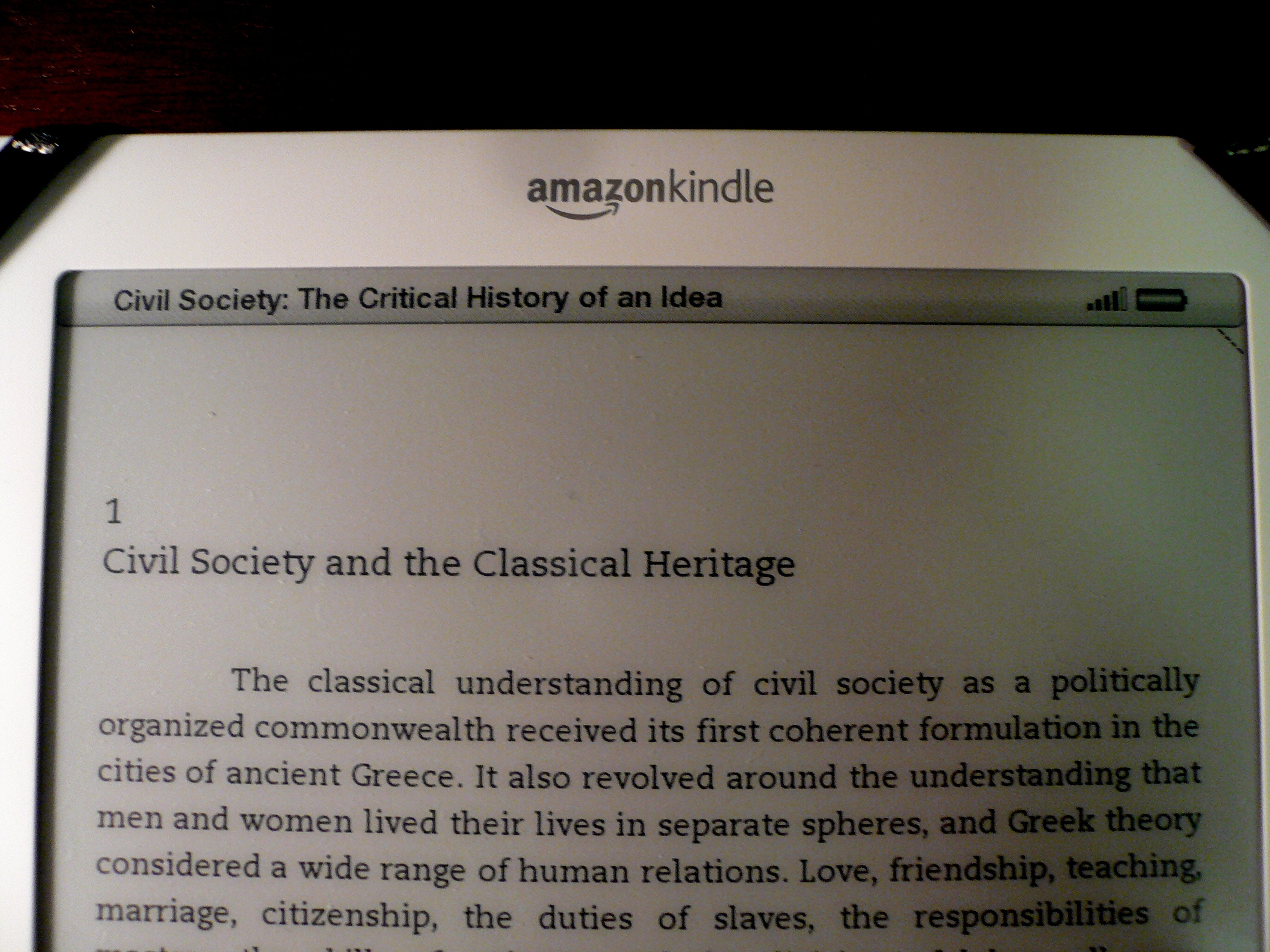My Kindle DX and I: An Arranged Marriage | University Press Club