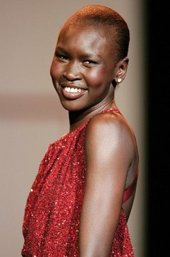 399px-Alek_Wek,_Red_Dress_Collection_2007