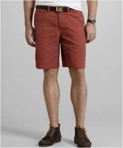 LL Bean Signature Sportsman's Chino Shorts in Nantucket Red