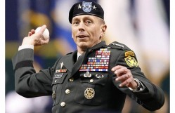 Gen. David Petraeus offers to pitch in for the war effort in Afghanistan