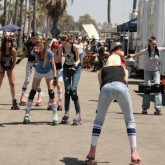 Jane Randall '12 on ANTM at Venice Beach