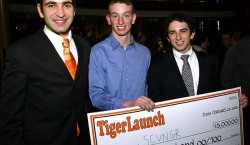 Why, is that Seth Priebatsch (formerly '11) at Princeton's TigerLaunch?