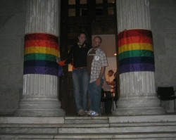 Princeton alumni at an LGBT Reunions event in Whig Hall (photo: creative commons by Flickr user jsmjr)
