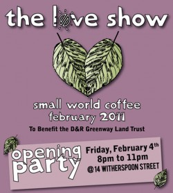 Check out the Love Show at Small World this Friday night. (source: smallworld.com)