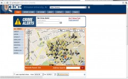 It's like Googlemaps....but with crime scenes...