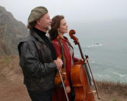 Alasdair Fraser, fiddle & Natalie Haas, cello, will perform in Taplin Auditorium on Thursday, Sept. 22.