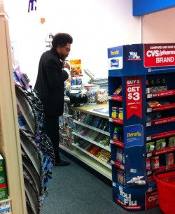 Amateur Paparazzi on the Nassau St. CVS