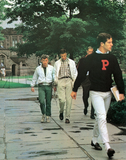 "Princeton circa 1965: poster child for ""Ivy Style"""