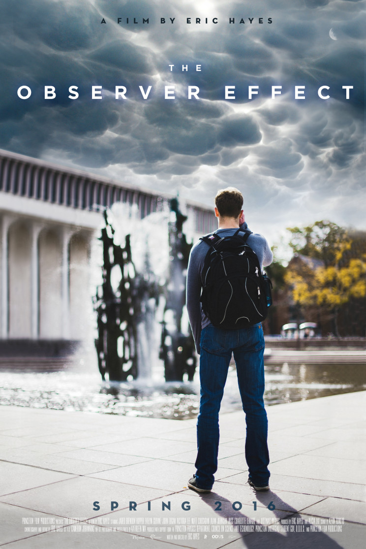 Official movie poster for The Observer Effect