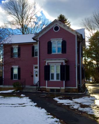 The Pink House. (Source: Forbes College)