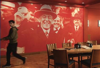 Princeton Board of Trustees Decide to Keep Woodrow Wilson's Name