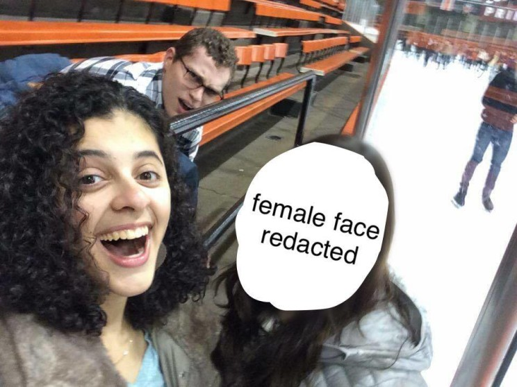 Mallika and Sam go ice skating the night of Dean's Date