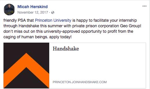 A firmer Handshake: 'misleading' job description raises questions of